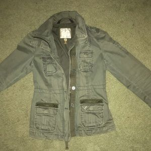 American eagle army green jacket size S like new